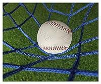 バックネット, 野球 バッティングネット 軟式 軟式用 野球 グラウンド備品 練習用ネット スクリーンネット 野球練習ネット 野球ネット ゴール ネット ソフトボール 軟式用ネット 野球練習用ネット 軟式野球 ソフトボール用 リターンネット サッカーネット 防球ネット バッティング練習用ネット フットサル サッカー ゴールネット ボール サッカーゴール 練習ネット, 青