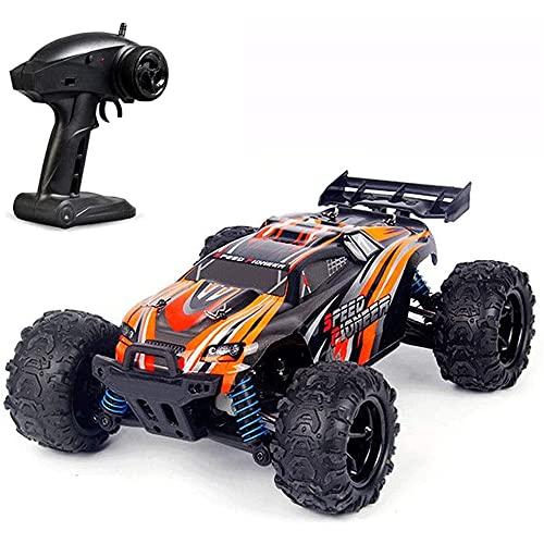 WANGCH All Terrain Rock Climbing RC Vehicle 1/18 High Speed 4WD Remote Control Car Off-Road RC Car con suspensión Independiente 2.4G Radio Drift RC Buggy para niños y Adultos