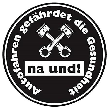 Diesel Auto Aufkleber Sticker Feinstaub Gesundheitumwelt Plakette Jdm Tuning TÜv Lkw Lustig Fun 2 Stück Auto