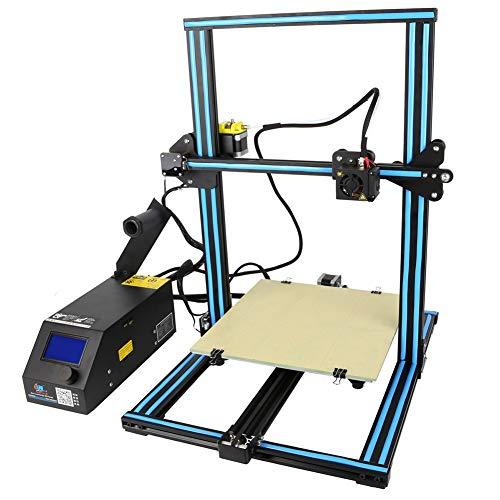 Creality CR-10 Imprimante 3D Imprimante 3D Assemblage Rapide Aluminium Prusa I3 Kit avec Une Taille d'impression De 300X300x400mm,Reprise du Travail en Cas De Panne Électrique
