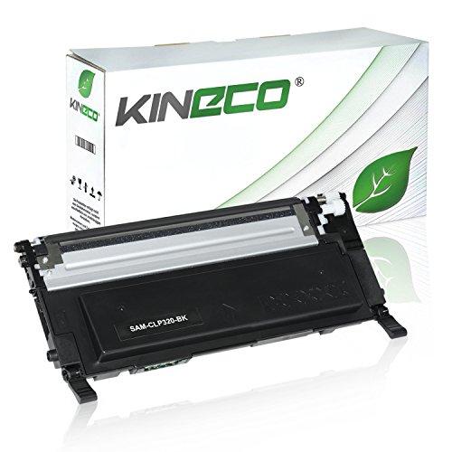 Toner kompatibel zu CLP-320 für Samsung CLP-325, CLX-3180, CLX-3185 - CLT-K4072S/ELS - Schwarz 2.500 Seiten