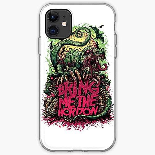 Compatibile con Samsung/iPhone 12/11/X/XR/7/Xiaomi Redmi 9A/Note 9/10/8 Pro Custodie BMTH Horizon Band Album Tour Me Metal Bring The Live Custodie per Telefoni Cover