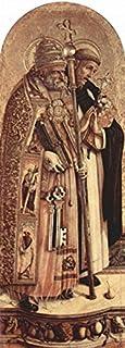 Le Musée Prise autel Triptyque, gauche et tableau de HL. Petrus HL. Poster de Dominique Taille M)