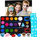 Qtisky Halloween Face Paint Kit