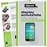 dipos I 2X Schutzfolie matt kompatibel mit Alcatel One Touch Pop S7 Folie Bildschirmschutzfolie