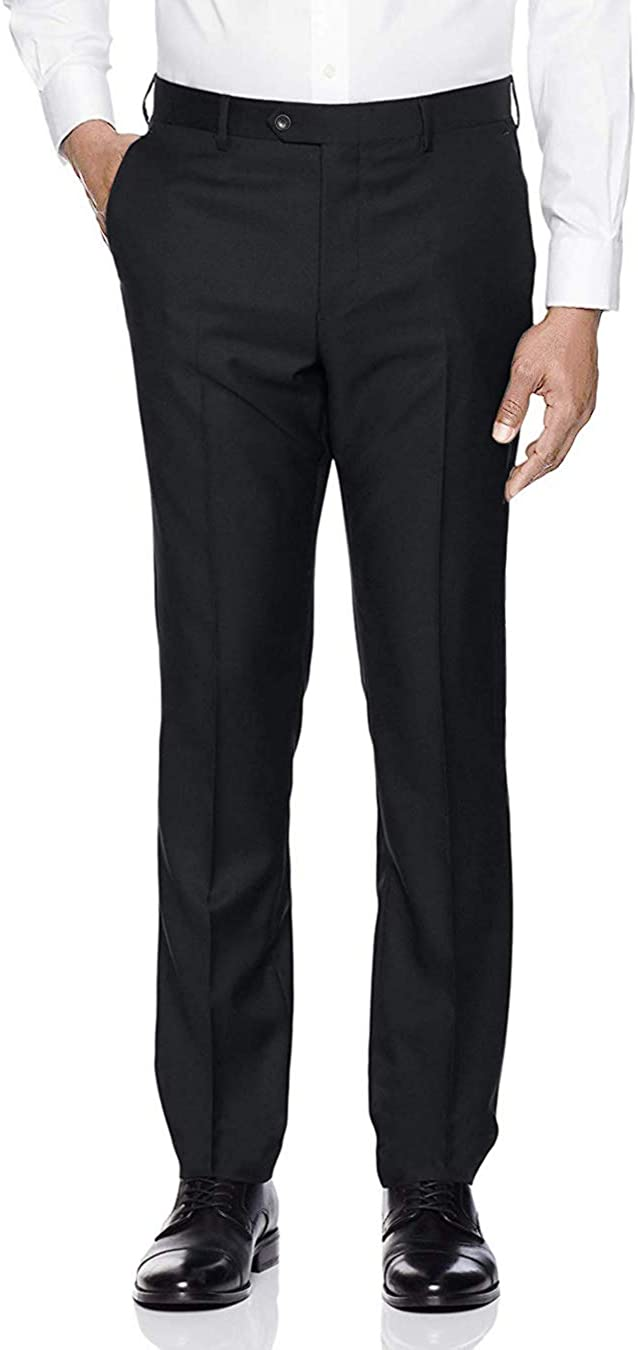 GN GIORGIO NAPOLI Men's Flat Max 66% OFF Front Suit Separates Pant Dress Manufacturer direct delivery Cla