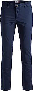 Jack & Jones Men's Jjimarco Jjbowie Sa Navy Blazer Noos Trouser