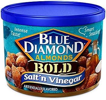 12-Pack Blue Diamond Almonds Bold Salt & Vinegar Snack Nuts