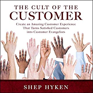 The Cult of the Customer audiobook cover art