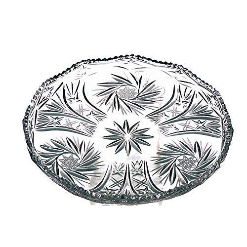 CRISTALICA Teller Kuchenteller Tortenteller Carola Transparent D 31 cm Kristallglas