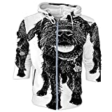 Dog.Labradoodle with Funny Expression - Illustration Dog,Women's Fashionable Softshell Jacket Black Color L