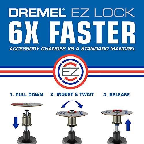 Dremel 710-08 Kit de accesorios rotatorios para todos los usos, 160 piezas
