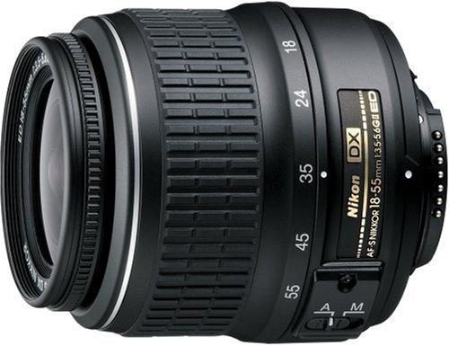 Nikon Af-S Dx 18-55Mm F/3.5-5.6G Ed Black