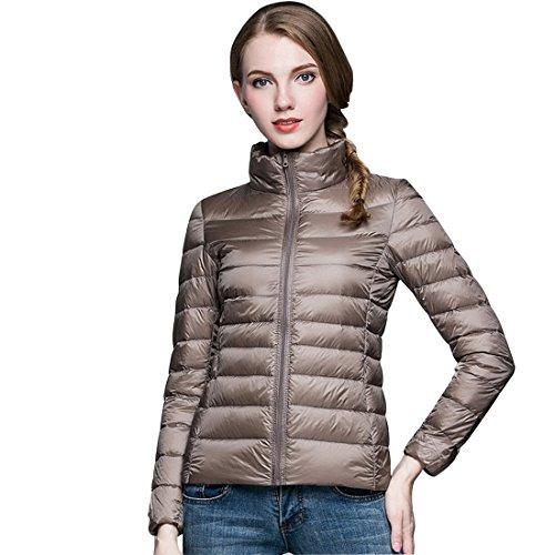 GWELL Daunenjacke Ultraleicht Damenjacke frühling Steppjacke Damen Damenmantel Übergangsjacke für Herbst Winter