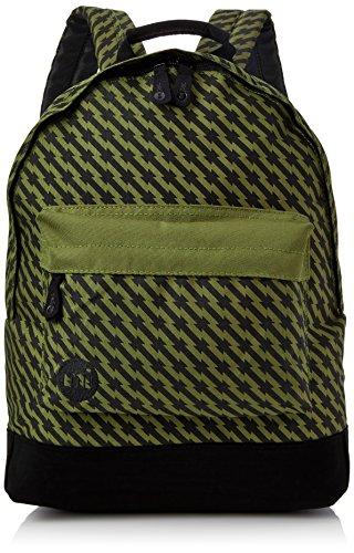 Mi-Pac Custom Prints Backpack Mochila Tipo Casual, 41 cm, 17 litros, Barb Wire Kaki