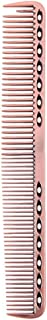 Coobbar 1pcs Anti-static Stainless Steel Hair Combs Hair Styling Hairdressing Barbers Combs (Rose Gold)