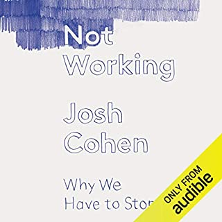 Not Working     Why We Have to Stop              By:                                                                                                                                 Josh Cohen                               Narrated by:                                                                                                                                 Jonathan Coote,                                                                                        Josh Cohen                      Length: 10 hrs and 3 mins     8 ratings     Overall 3.1