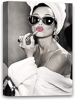 Funny Ugly Christmas Sweater Hepburn Fans New Audrey Hepburn Photo Canvas Pretty Lips Cute Hepburn Portrait Artwork 8