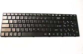 GHAG Replacement Keyboard for MSI A6200 MS-1681 US Keyboard v111922ak1 MS-168B MS-1684 MS-1688 MS-16GN