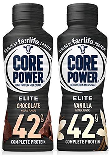 Core Power Elite High Protein Milk Shake 2 Flavor Pack (6 Bottles)