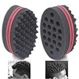 AIR TREE Big Holes Magic Barber Sponge Brush Twist Hair For...
