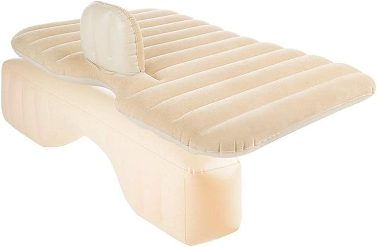 LQZHP Lit Gonflable de Voiture avec Coussin de Pompe à air pour Le Camping et Le Repos du Sommeil