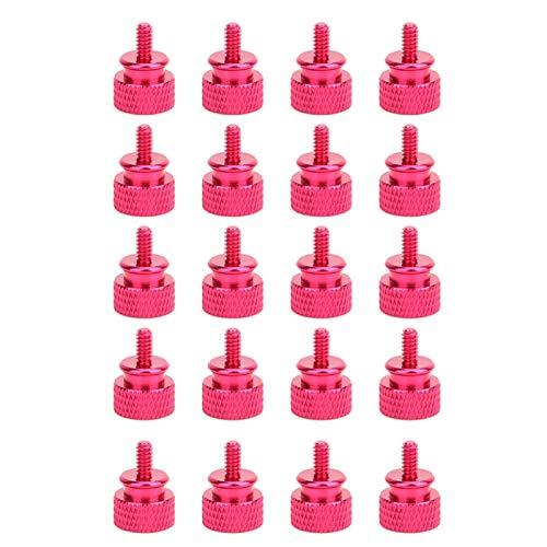 【𝐅𝐫𝐮𝐡𝐥𝐢𝐧𝐠 𝐕𝐞𝐫𝐤𝐚𝐮𝐟 𝐆𝐞𝐬𝐜𝐡𝐞𝐧𝐤】Befestigungselement, bequem zu handhabende Handschraube, langlebig für die Elektronikindustrie in der Fabrik(Pink)