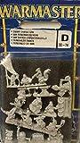 Games Workshop 30-74 Warmaster - Figuras de los enanos para pintar de metal
