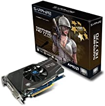 Sapphire Radeon HD 7770 GHZ 1 GB DDR5 HDMI/DVI-I/DP PCI-Express Graphics Card 11201-17-20G