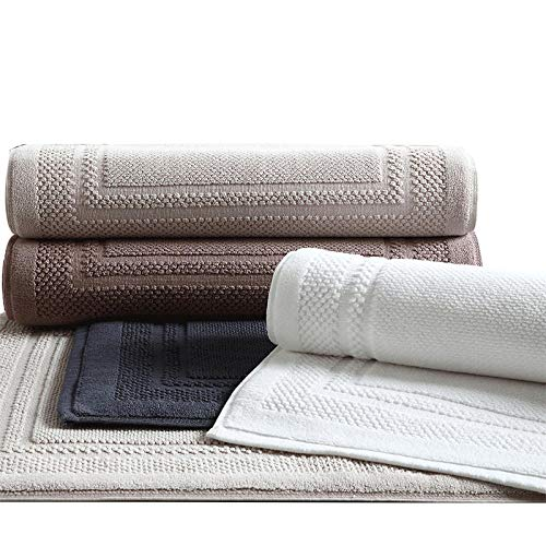 Wxlyy Katoen Effen Badkamer Tapijt Nieuwe Kleurrijke Anti-Slip Toilet Tapijt Voor Decor Grote Size Badmat tapijten 1 stks