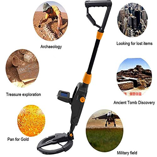 TXDWYF Lightweight Best Metal Detectors for Kids/Treasure Hunter for Children Beach Detecting/Metal Detector with All Metal/High Sensitive