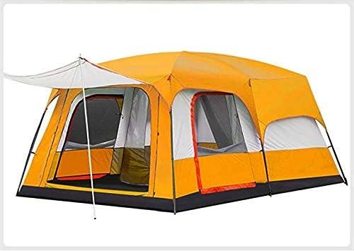 CS-LJ Tentes extérieures à Deux Chambres à Coucher, Tente à Plusieurs abris avec auvent Sauvage