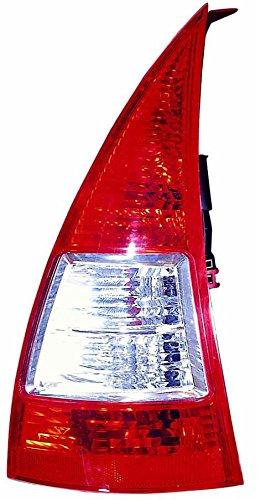 Iparlux Groupe optique arrière gauche avec feu rouge et feu blanc