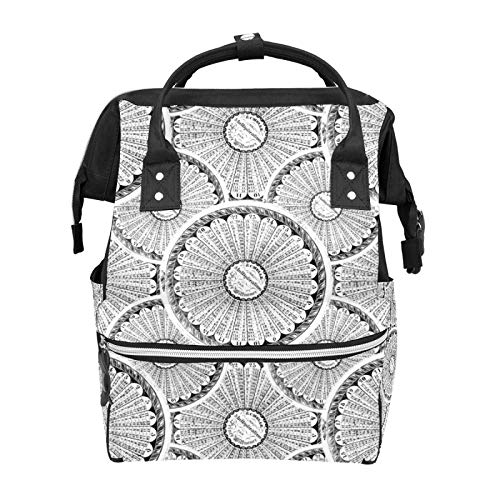 Math Genius Steampunk Multiplication Table School Backpack Large Capacity Mummy Bags Laptop Handbag Casual Travel Rucksack Satchel for Women Men Adult Teen Children