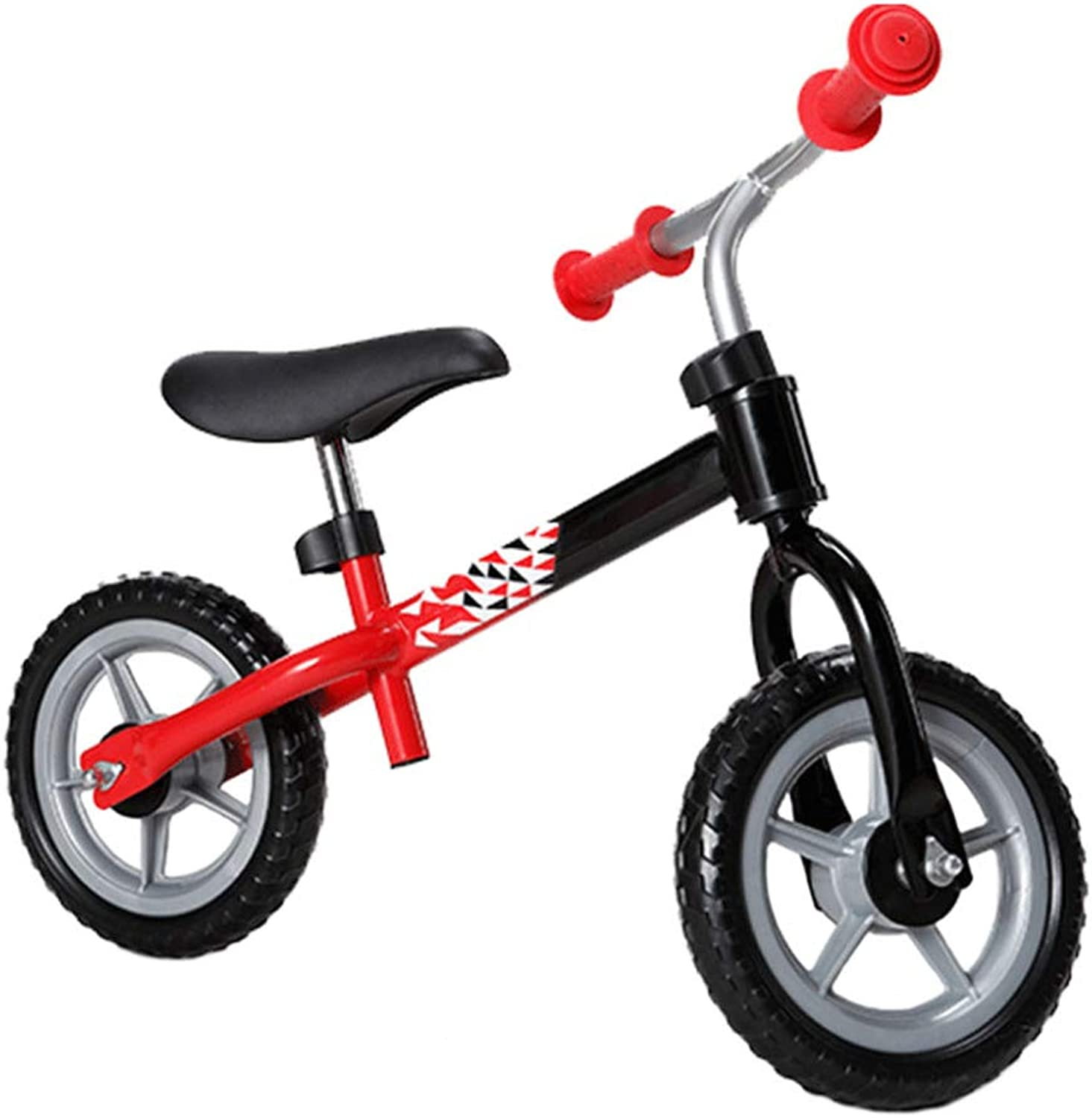 TH  Balance Bike First Bike  No Pedal, Carbon Steel Frame, Adjustable Seat,26 Years Old