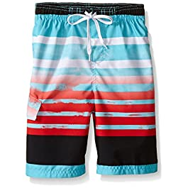 Kanu Surf Boys' Reflection Quick Dry UPF 50+ Beach Swim...