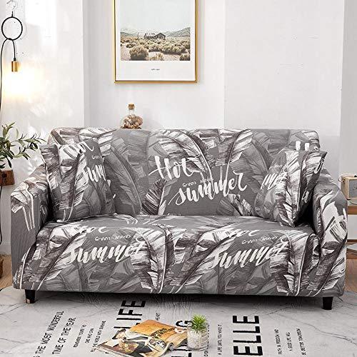 Protector de sofá Antideslizante 2 plazas y 4 plazas, Funda de sofá de Esquina Completa Universal Fundas de sofá elásticas para Sala de Estar, Funda de sillón Antideslizante Sofás Chaise Q