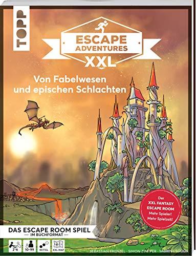 Escape Adventures XXL – Von Fabelwesen und epischen Schlachten. Das Escape-Room-Spiel im Buchformat.: Jetzt in XXL für mehr Spieler und längere ... 120 Minuten Spielzeit. Schwierigkeit: Mittel