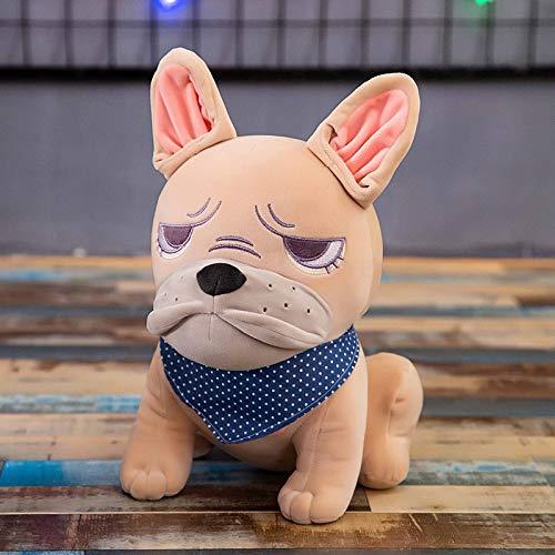 Vinteen Regalo Divertente Bulldog Bambola Peluche Cucciolo Bambola Ragdoll Boy Girl ha farcito Il Giocattolo della Decorazione del sofà mitigatore di Sforzo Cuscino Cuscino di Sonno