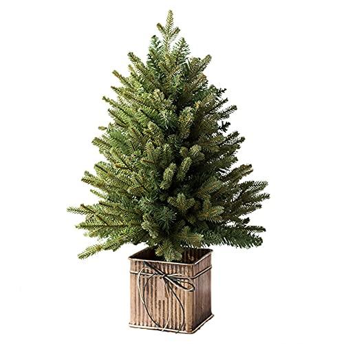 Z·Bling Alberi per Fai da Te Home Decor,Albero di Natale Piccolo,Mini Alberi di Natale,Mini Alberi di Natale Artificiali,Finte Piccolo Alberelli (45cm,60cm,70cm,90cm)