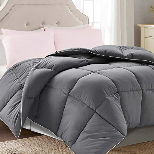 Brermer Soft King Goose Down Alternative Comforter