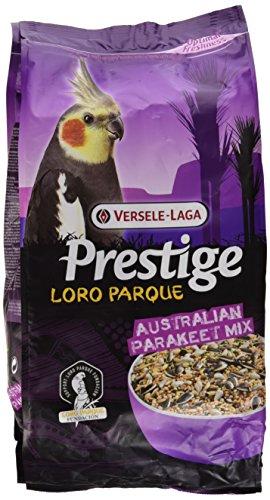 Versele Laga Vogelfutter für Großsittiche Australien Loro Parque 2,5 kg, 1er Pack (1 x 2.5 kg)
