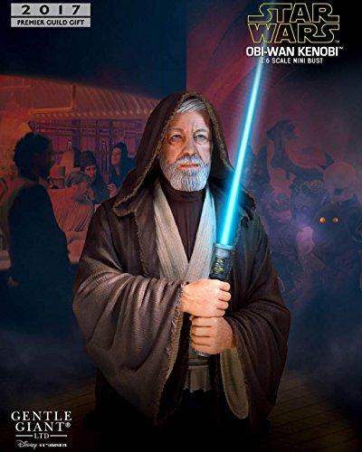 Star Wars Obi-Wan Kenobi (Alec Guinness) Collectible Mini Bust 2017 Premier Guild Exclusive image