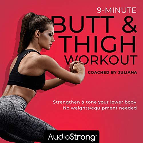 9-Minute Butt & Thigh Workout audiobook cover art