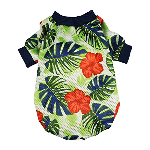 Fitwarm Palm Leaf Pet Clothes for Dog