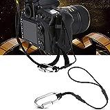 AYNEFY - Cinghia da Polso per Fotocamera, 2 Pezzi, in Nylon, Universale, con Gancio a Clip...