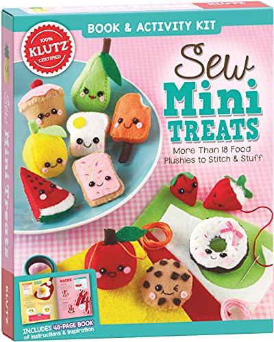 Klutz Sew Mini Treats Craft Kit, 8' Length x 1.5' Width x 9' Height