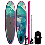 VoltSurf - 11' All-Around - iSUP Inflatable Paddle Board Kit + Leash &...