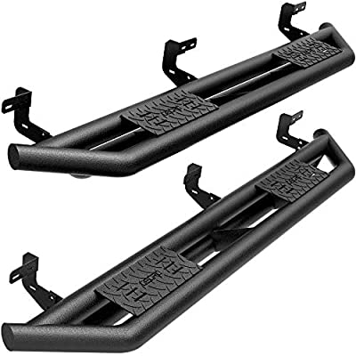 oEdRo Running Boards Replacement for 2009-2018 Ram 1500 Crew Cab & 2010-2021 2500/3500 & 2019-2022 Classic Crew Cab, Textured Black Side Step 6