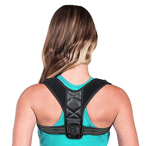 Geradehalter zur Haltungskorrektur für eine Gesunde Haltung, ideal zur Therapie für haltungsbedingte Nacken, Rücken und Schulterschmerzen Damen Herren